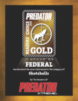 Example of Predator Magazine Readers' Choice Gold Award for best shotshells.