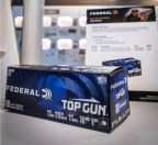 Box of Federal Top Gun clay target loads.