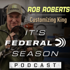 Rob Roberts conducting his podcast