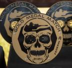 Collection of the medals earned by Team Federal