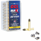 Box of CCI Maxi-Mag Clean-22 Segmented Hollow Point 22 WMR