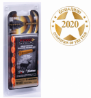Box of Federal Fire Sticks and Guns and Ammo 2020 Innovation of the Year logo
