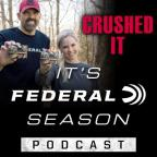 Lee and Tiffany Lakosky and the It's Federal Season logo