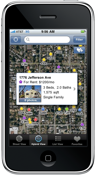 Zillow MediaRoom - Zillow iPhone App