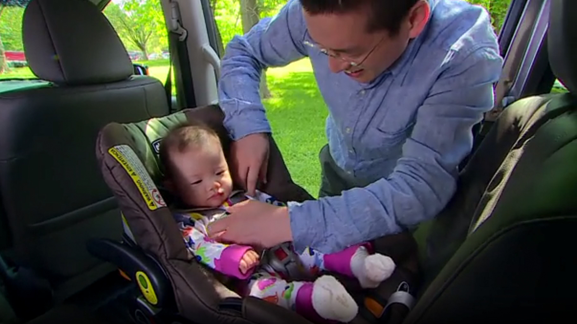 Children in child restraints