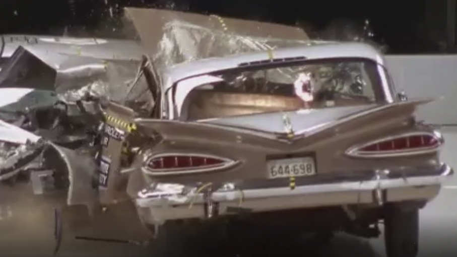 1959 Chevrolet Bel Air vs. 2009 Malibu