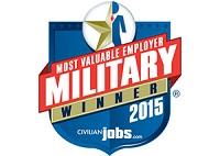 Alaska Airlines was recognized as the 2015 Most Valuable Employer (MVE) for Military. Click enter to read more.