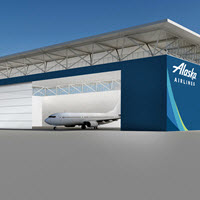 New Anchorage Hangar Rendering