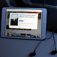 Direct-to-your-device in-flight entertainment