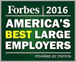 Alaska Airlines was named one of America's Best Employers in 2016. Click enter to read more.