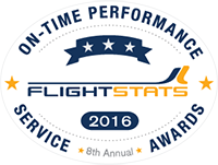 Alaska Airlines was ranked as the No. 1 on-time major North American carrier for seventh year in a row. Click enter to read more.