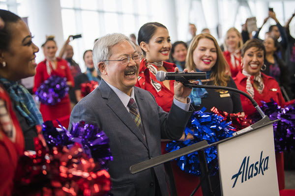 Alaska Airlines Extends Condolences After The Passing Of