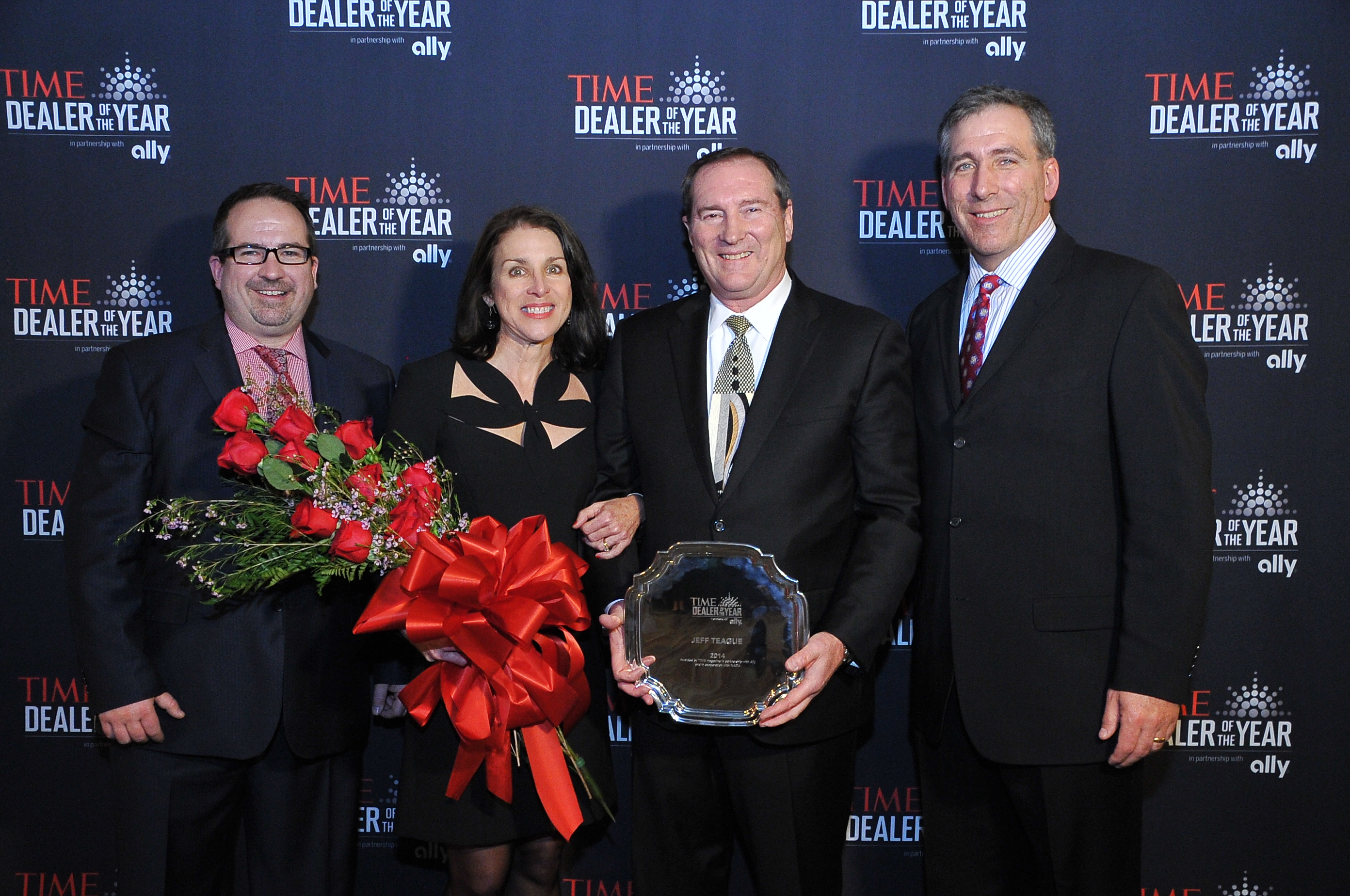 images ally financial ally financial from left moritz loew of time sarah and jeff teague the 2014 time dealer of the year and tim russi ally financial president of auto finance at the 2014