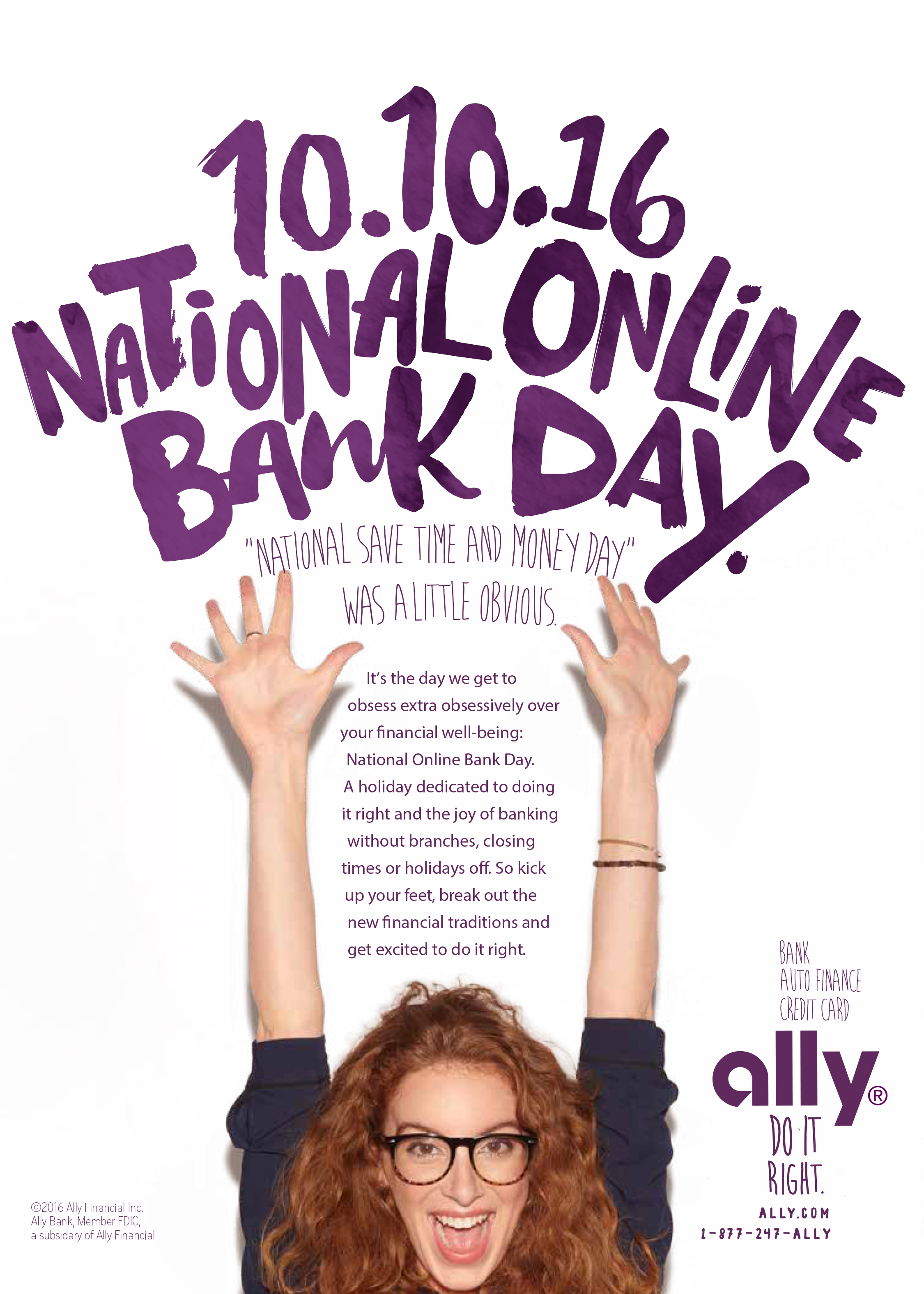 Ally Celebrates Second Annual National line Bank Day Oct 10