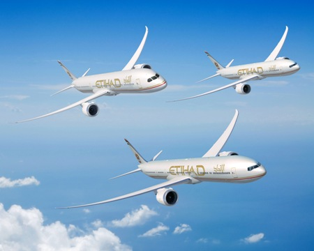Boeing Etihad Airways Kick Off Dubai Airshow With 777x