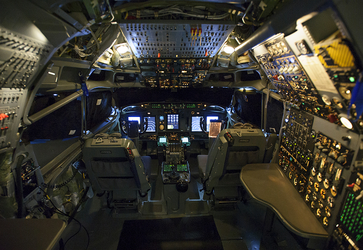 Boeing Begins Digital Flight Deck Upgrades to NATO Fleet
