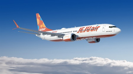 boeing jeju air announce order for up to 50 737 max airplanes nov