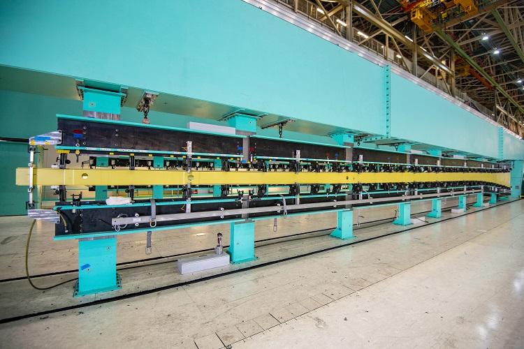 Boeing Begins Assembling First Kc 46a Tanker For Japan