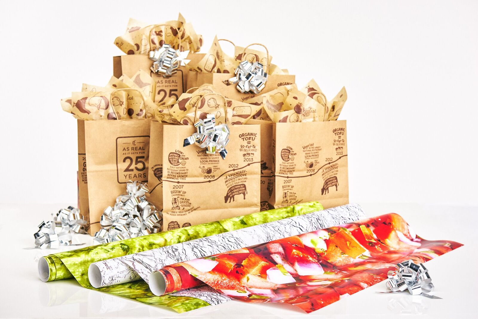 Chipotle Is Selling Guacamole, Salsa, and Burrito-Inspired Wrapping Paper for the Holidays