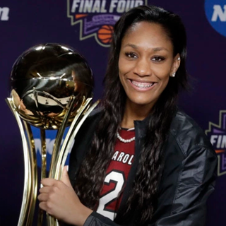 A'ja Wilson is expected to go first in the WNBA draft. But first, she'll want to stop at Chipotle.