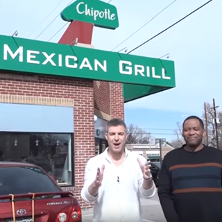 The Original Chipotle on National Burrito Day