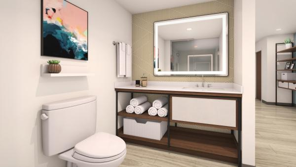 Everhome Suites Bathroom