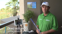 Professional Golfer Uses Technology To Teach Golf Lessons