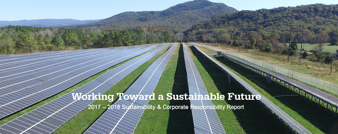 Sustainability and Corporate Responsibility Report