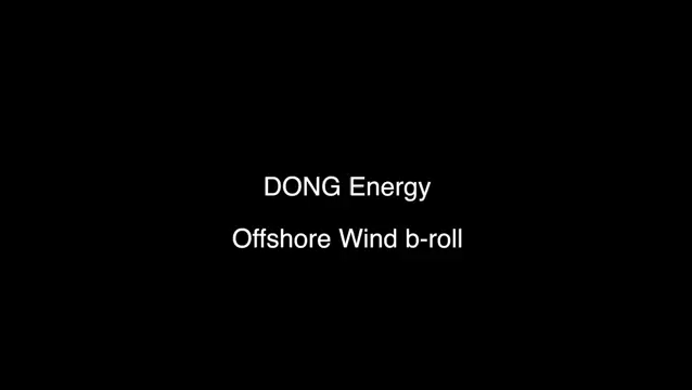 DONG Energy footage from Coastal Virginia Offshore Wind Announcement