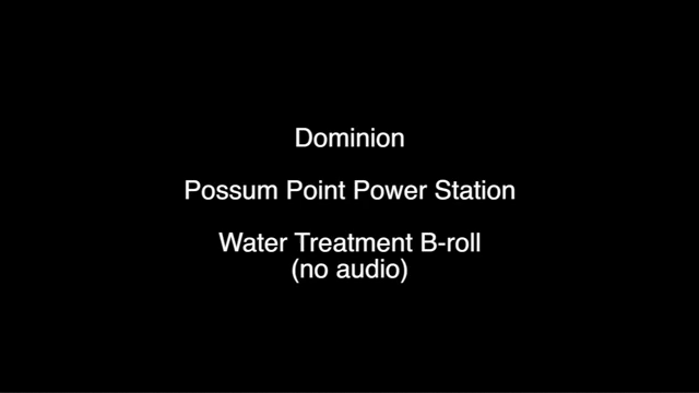 Water Treatment at Possum Point Power Station