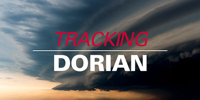 tracking hurricane Dorian