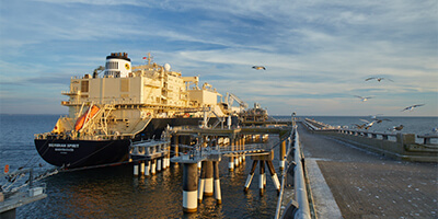 Dominion Energy's Cove Point LNG Terminal loaded its 100th commercial ship this week.