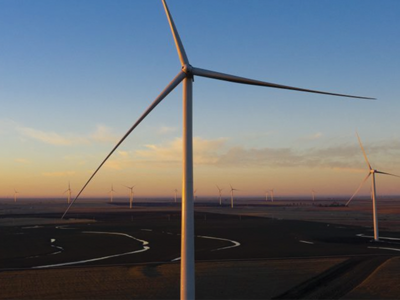 Wind farms powering Renewables Direct customers