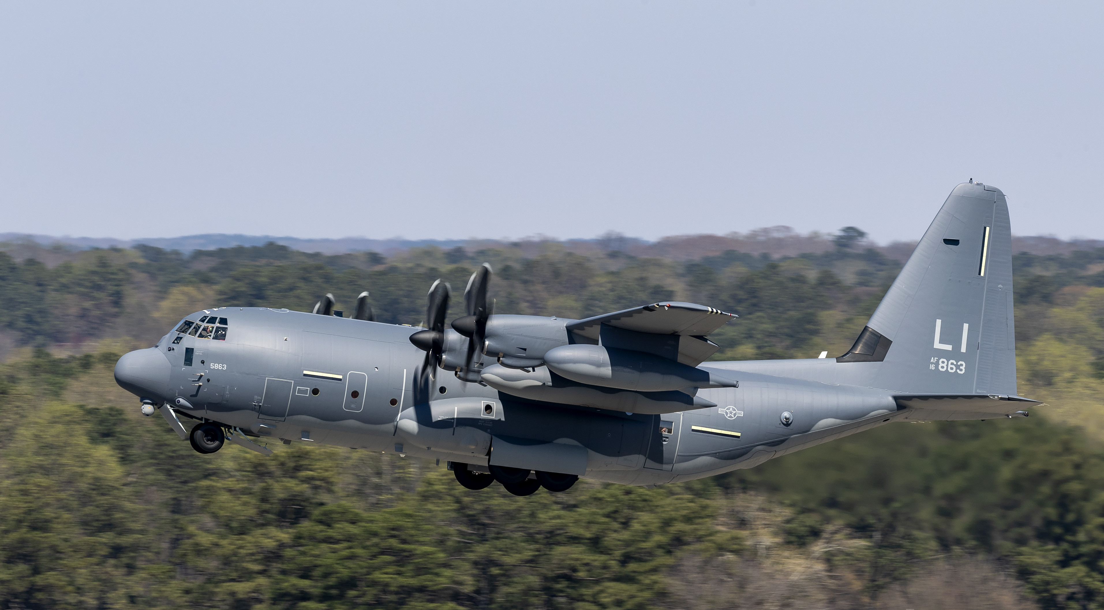 e1f67710d9b The first HC-130J Commando II assigned to the N.Y. Air National Guard's  106th Rescue Wing departs Lockheed Martin's facility in Marietta, Georgia,  ...