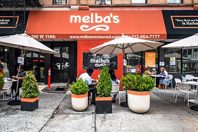 Melba's Restaurant Exterior