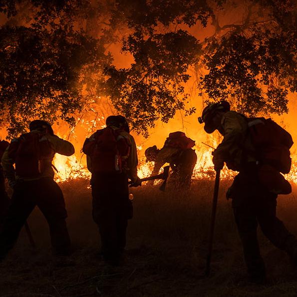 Carmel Fire, Carmel Valley, CA