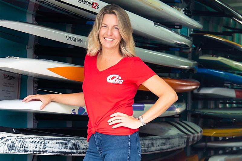 ProSUPShop owner Jennifer Kirkley-Vaughan