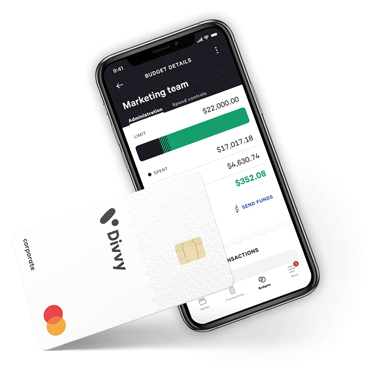 Divvy Card Phone Budget Detail