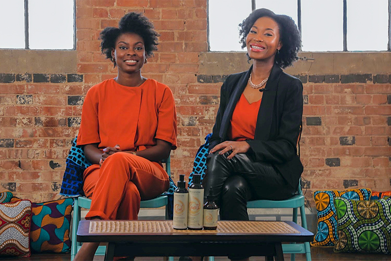 Afrocenchix co-founders Joycelyn Mate and Rachael Corson