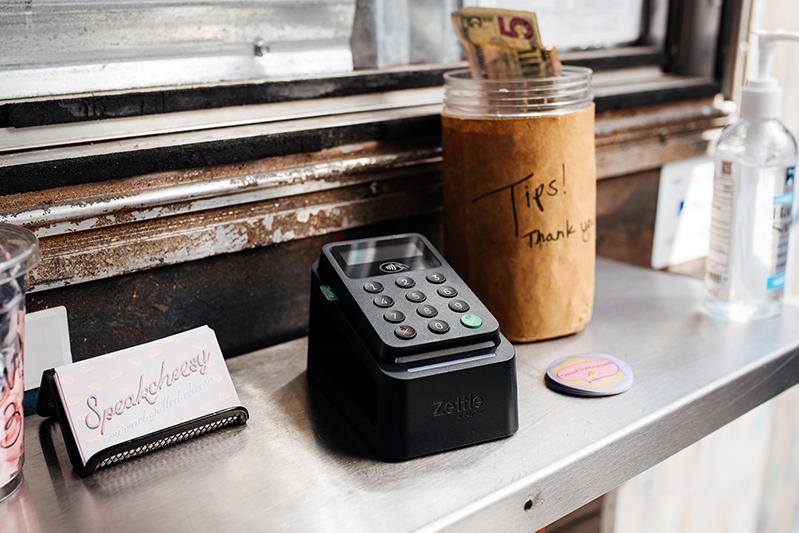 PayPal Zettle card reader