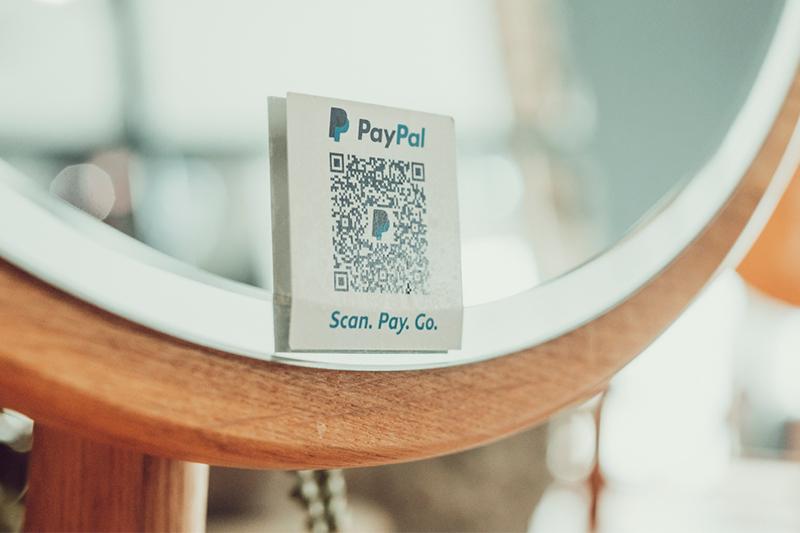 Sarah Barrett's PayPal QR Code