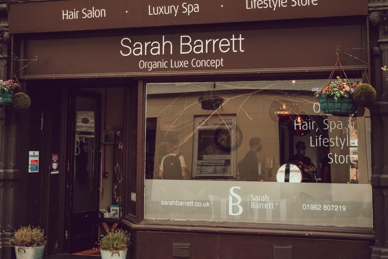 Sarah Barrett Hair Salon, Spa and lifestyle store