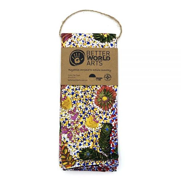Cotton Tea Towel by Julieanne Morton
