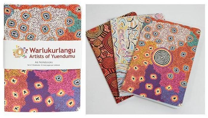 Warlukurlangu artwork A6 Notebooks