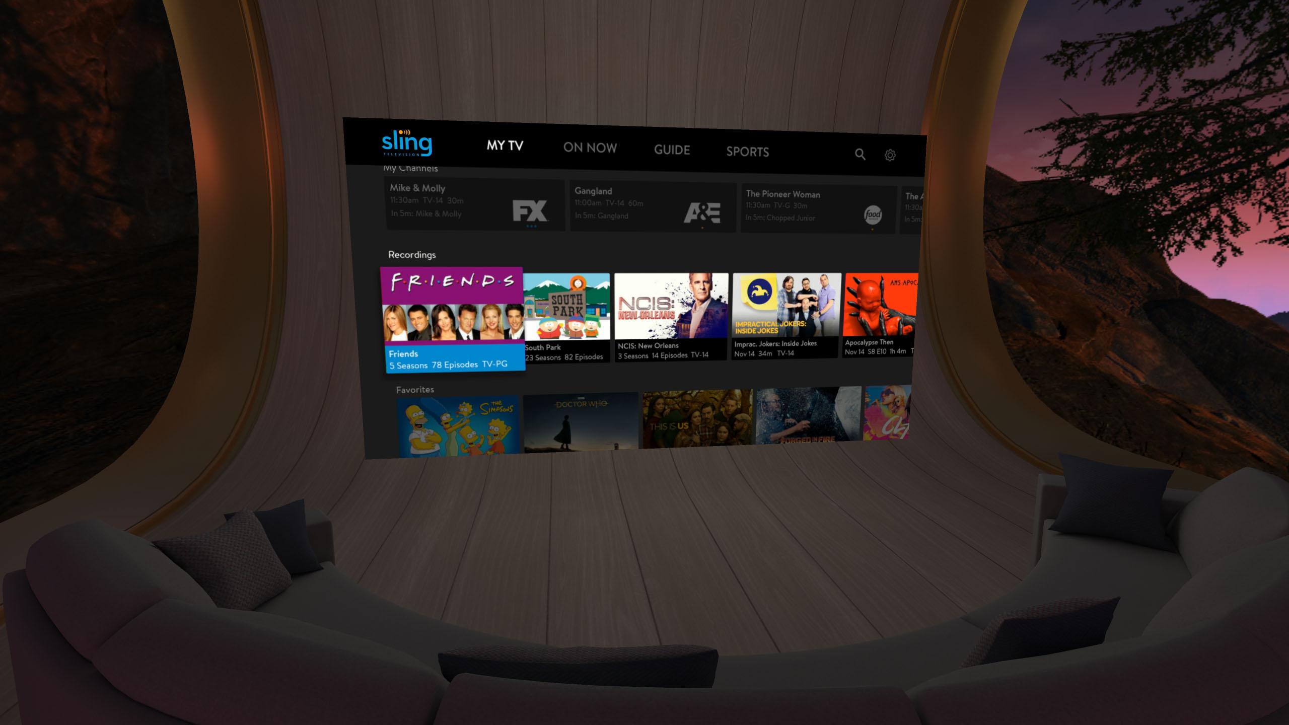 df5b44059ed3 Sling TV brings first vMVPD to Oculus Go virtual reality headset ...