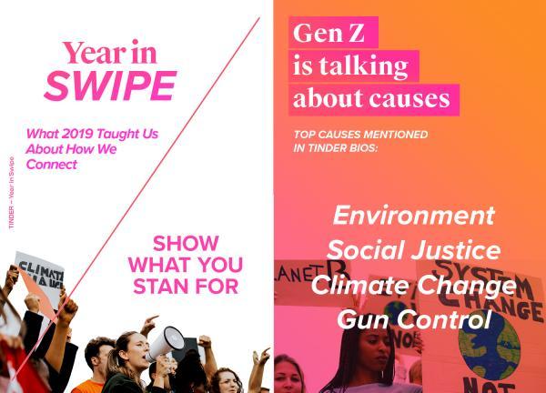 Tinders 2019 Year in Swipe®- 2019-12-05
