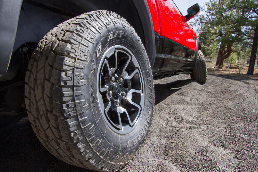 Toyo Open Country A/T II Provides a Tough Foundation for New Ram Rebel