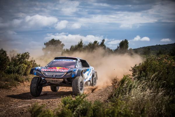 Bryce Menzies Testing for the Silk Way 2019 Rally
