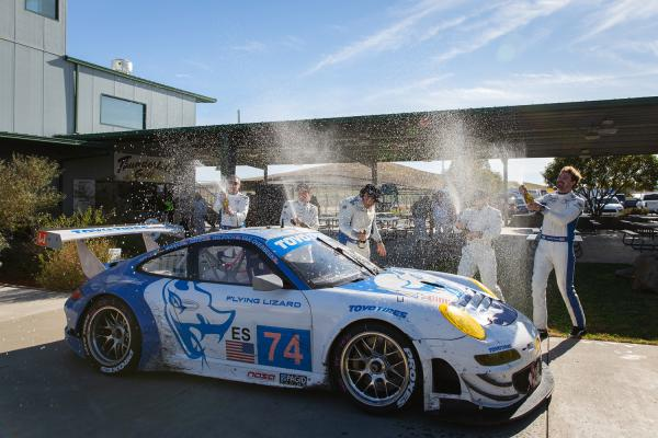 Toyo Tires/Flying Lizard Win 4th Consecutive USAF 25 Hours of Thunderhill™ overall