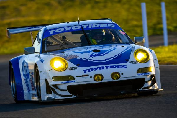 Toyo Tires/Flying Lizard Porsche® for the USAF 25 Hours of Thunderhill™